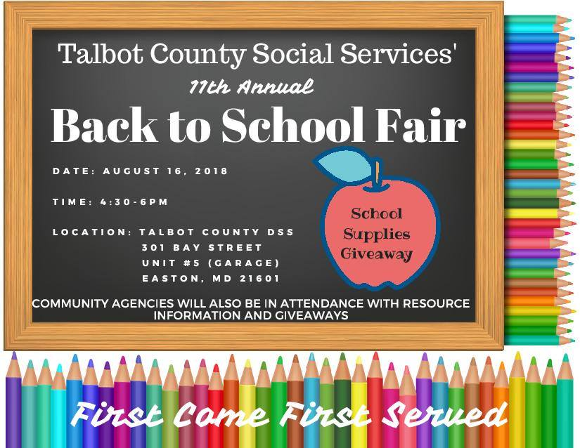 Annual back to school giveaways 2018